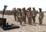 Still frame from: 42 Infantry Division End of Tour Video