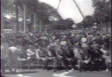 Still frame from: Aloha Hawaii. islanders Celebrate Long-Sought Statehood,  1959/03/16