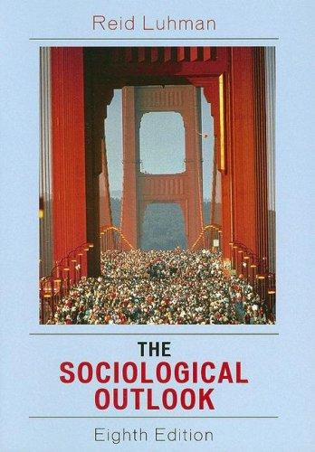 The sociological outlook by Reid Luhman
