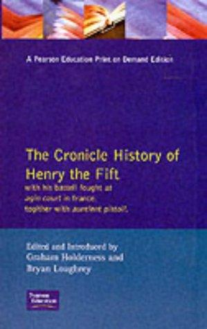 Download The Chronicle History of Henry the Fift