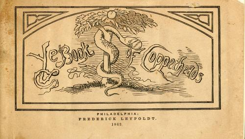 Download Ye book of Copperheads.