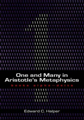 Download One and Many in Aristotle's Metaphysics