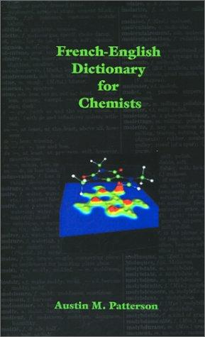 Download French-English Dictionary for Chemists