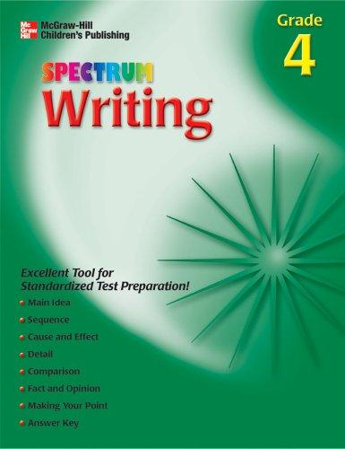 Spectrum Writing, Grade 4 (Spectrum)