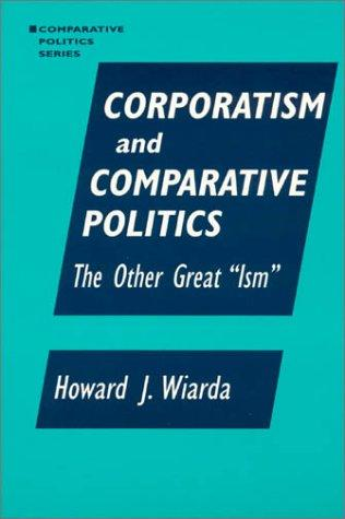Download Corporatism and Comparative Politics