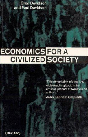 Download Economics for a civilized society