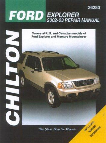Image for Ford Explorer & Mercury Mountaineer: 2002 through 2003 (Chilton Automotive Books)