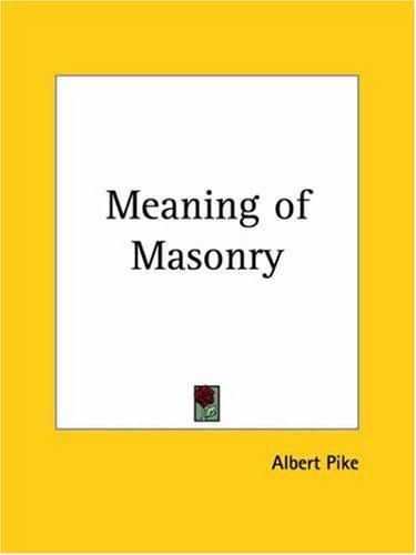 Download Meaning of Masonry