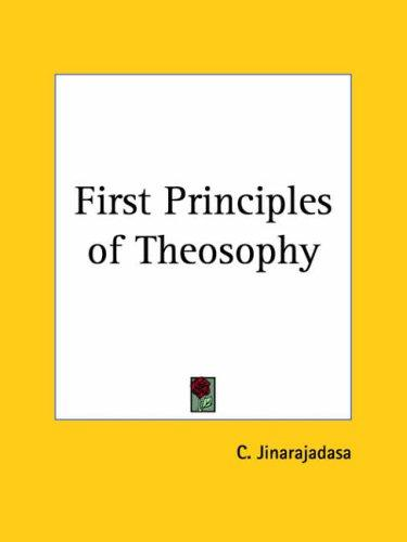 Download First Principles of Theosophy