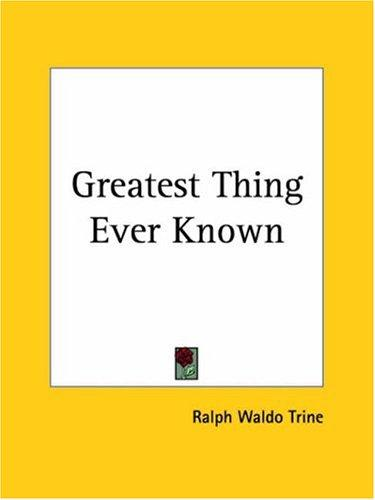 Download Greatest Thing Ever Known