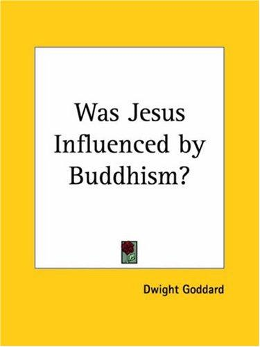 Download Was Jesus Influenced by Buddhism?