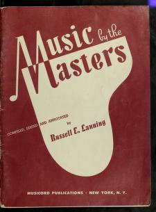 Cover of: Music by the masters | Russell E. Lanning
