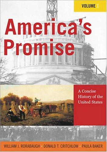 America's promise by W. J. Rorabaugh