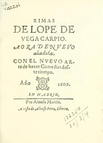 Poems by Lope de Vega