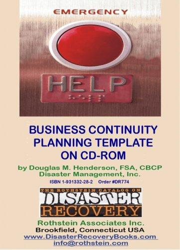 Business Continuity Planning Template by Douglas M. Henderson