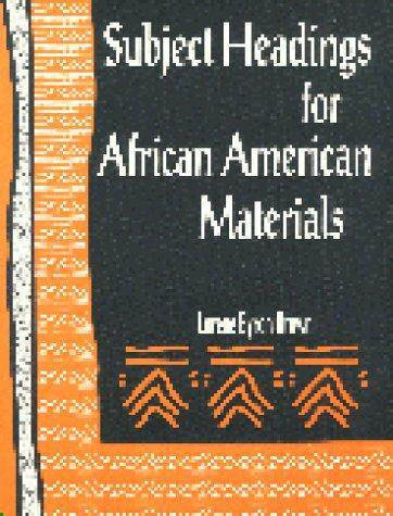 Subject headings for African-American materials by Lorene Byron Brown