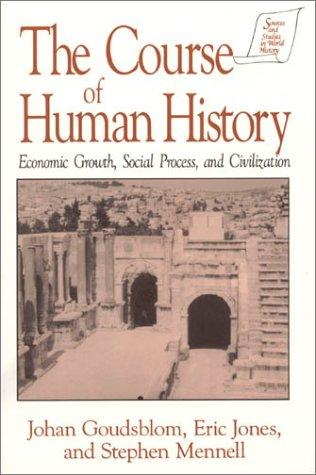 The course of human history by Johan Goudsblom