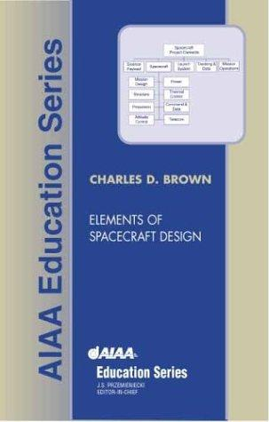 Elements of Spacecraft Design (Aiaa Education Series) by Charles D. Brown